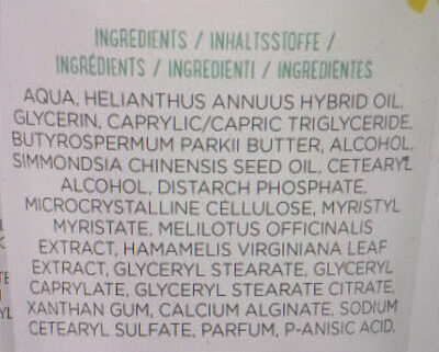 mama bear face & body cream - Ingredients - en