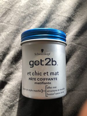 got2B pâte coiffante - Product - fr