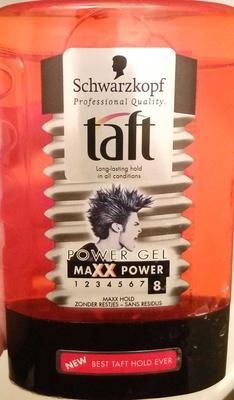 Taft Power Gel MAXX Power 8 - Produit - fr