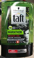 Taft Marathon 48H Power Gel 6 - Produit