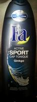 Active sport cap tonique Ginkgo - Product - fr