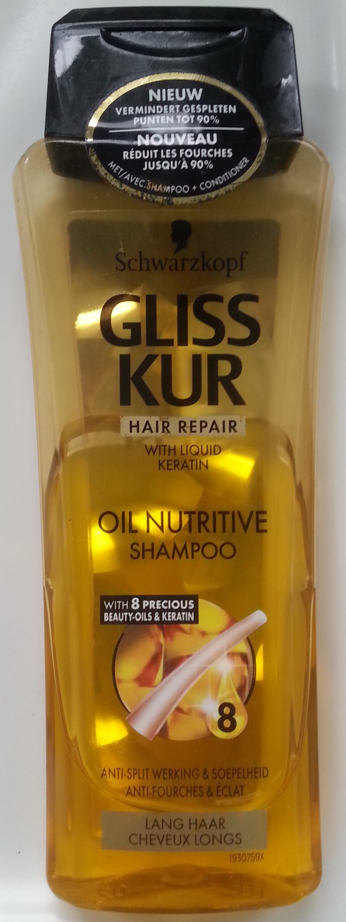 Gliss Kur - Hair repair -  Oil Nutritive Shampoo - Produit - en