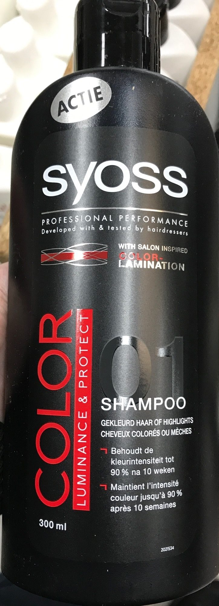 Shampoo Color Luminance & Protect - Produit