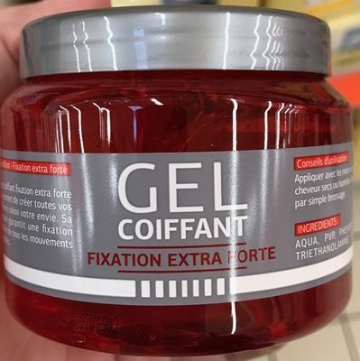 Gel coiffant fixation extra forte - Product - fr