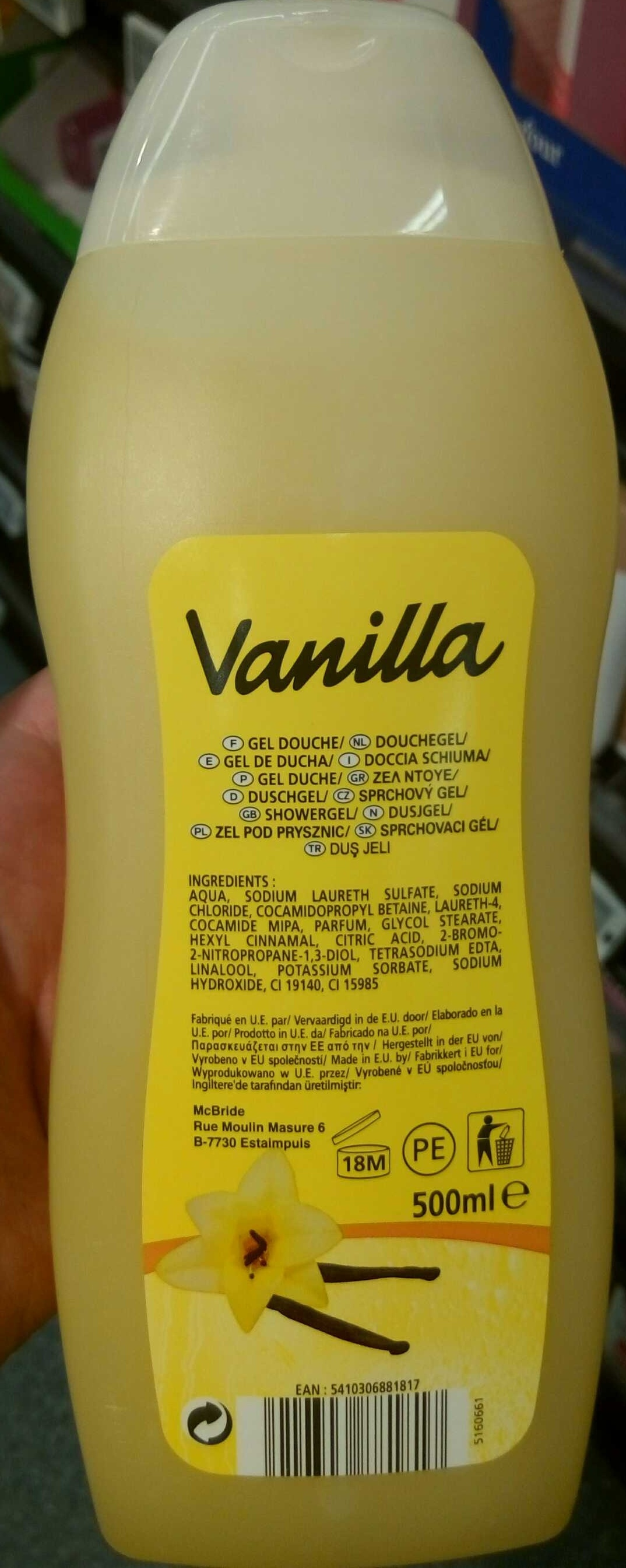 Vanilla - Produit - fr