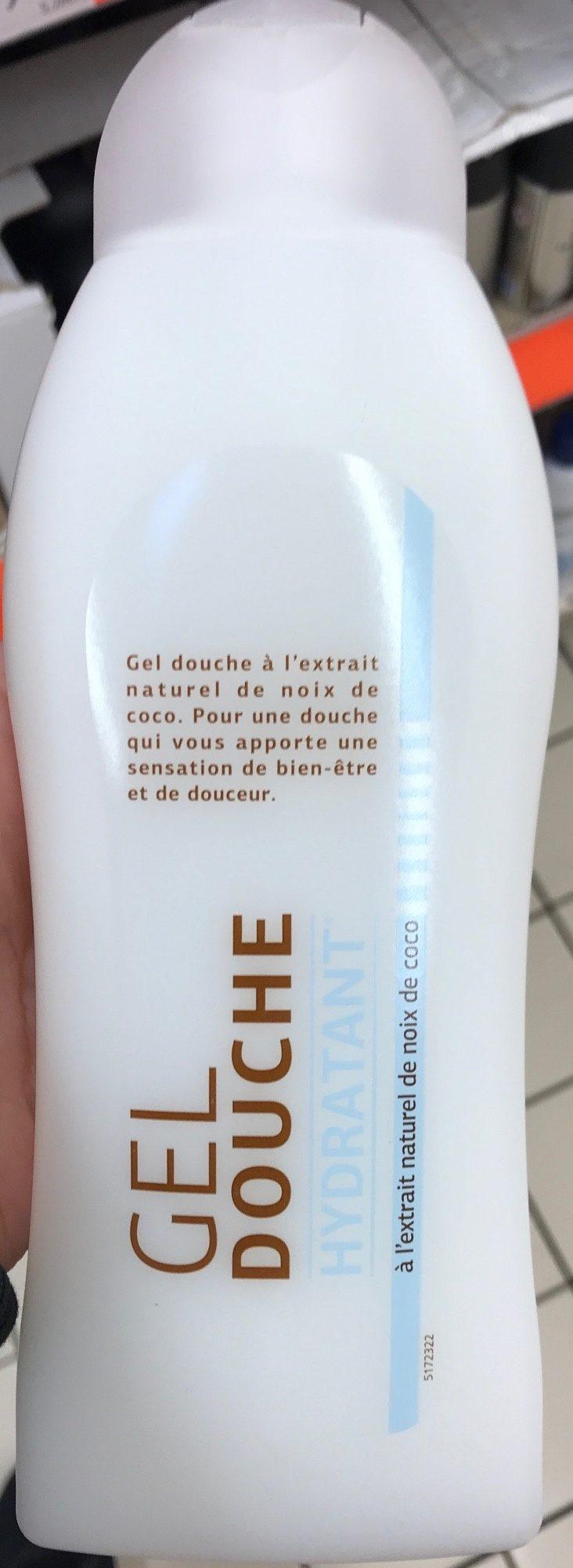 Gel douche hydratant à l'extrait de noix de coco - Product - fr