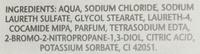 Bain moussant senteur lavande - Ingredients - fr