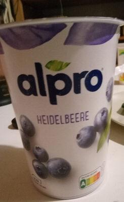 alpro Heidelbeere - Product - de