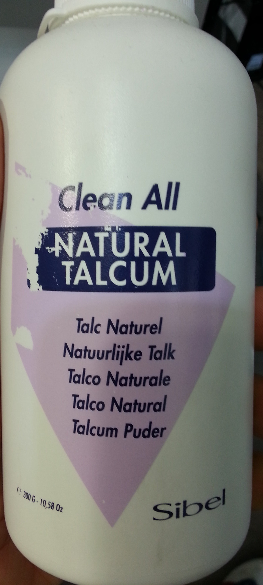 Natural Talcum - Product - fr