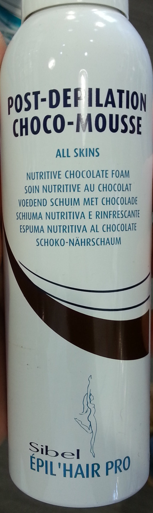 Post-Depilation Choco-Mousse Soin nutritif au chocolat - Product - fr