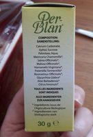 Perblan Every Day au Citron - Ingrédients - fr