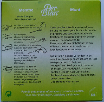 Per-Blan Menthe - Product