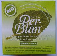 Per-Blan Menthe - Produit