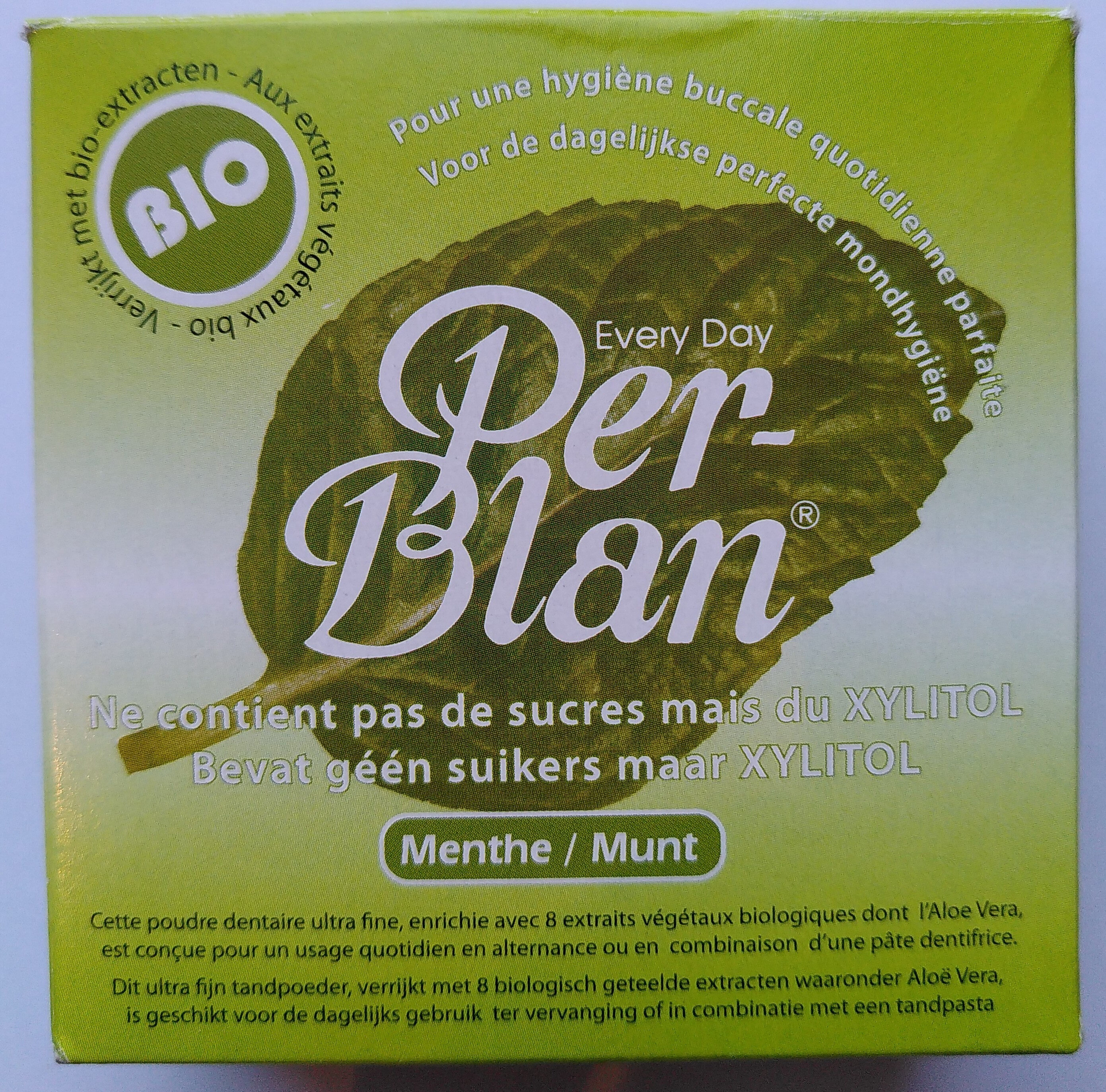 Per-Blan Menthe - Produit - fr