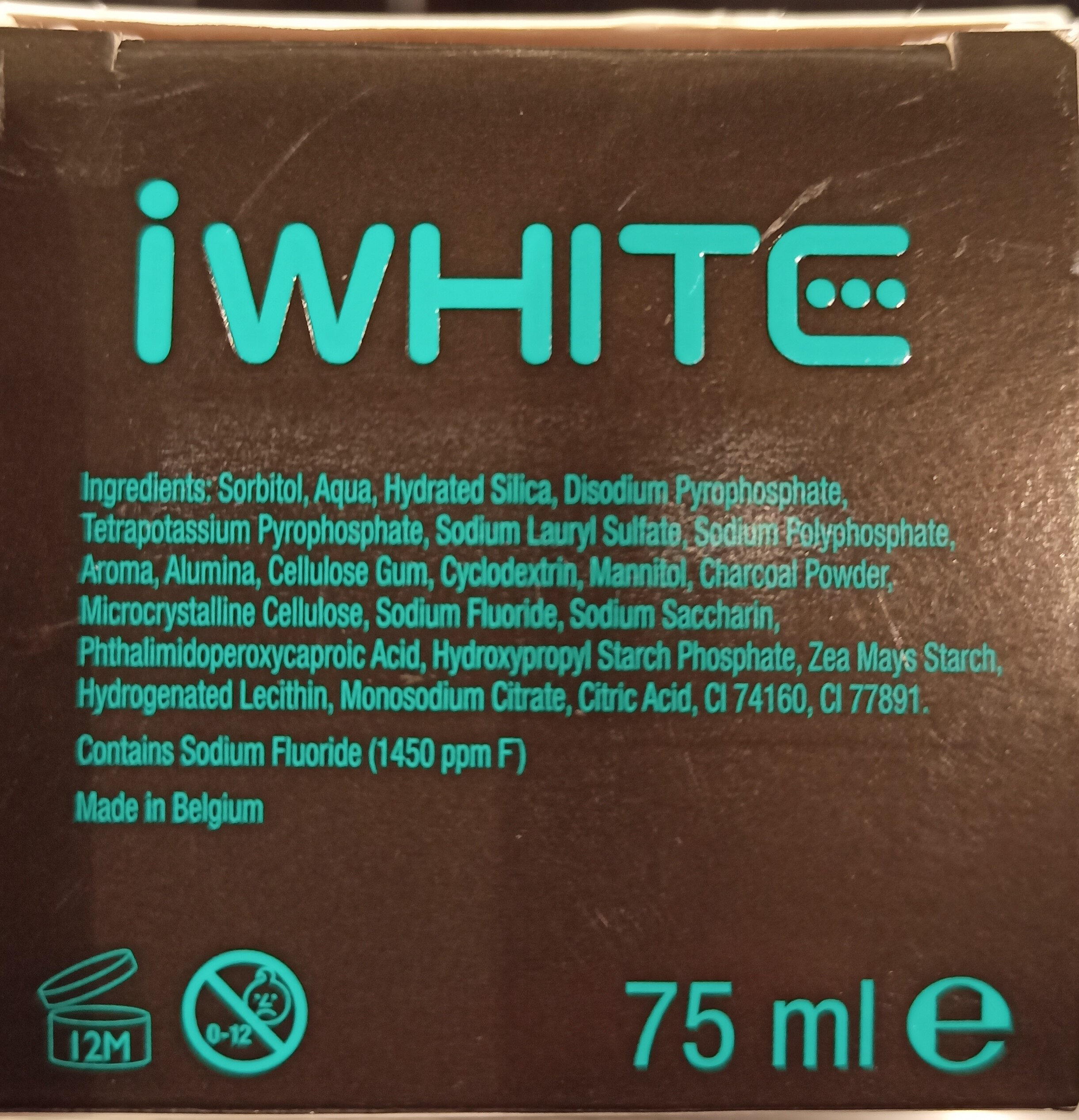 instant teeth whitening - Ingrédients - de