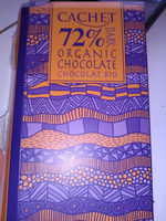CACHET Chocolat noir bio 72℅_a supprimer - Produit - en