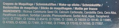 crayons de maquillage - Ingrédients - fr