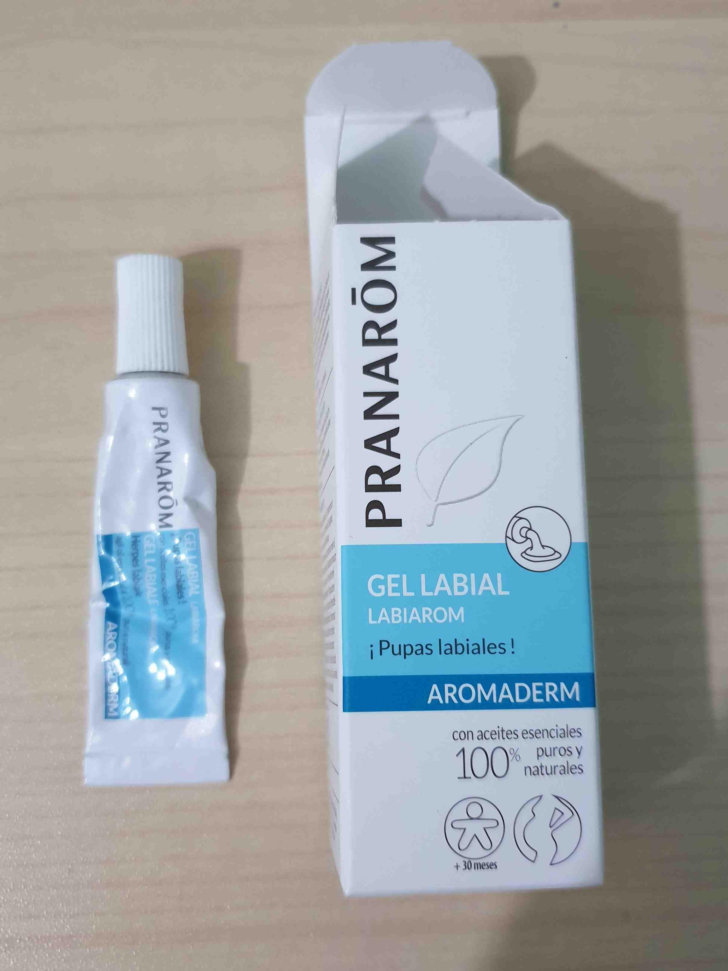 Aromaderm gel labial para pupas labiales - Product - en