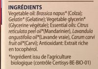 Pranarom Aromanoctis Sommeil Relaxation,30 Capsules - Ingrédients - fr