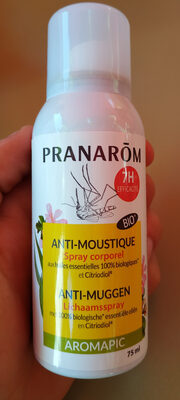Anti-moustique spray corporel - Produit - fr