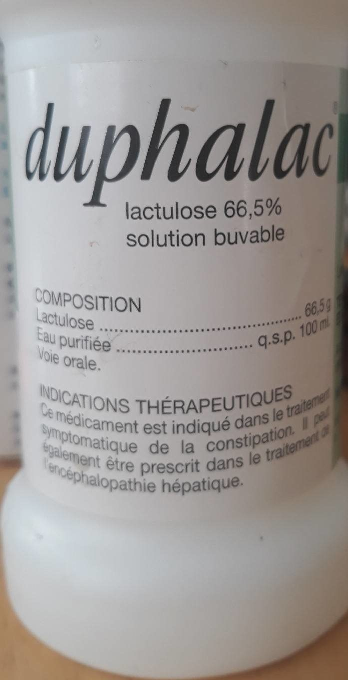 Solution buvable pour constipation - Product - fr