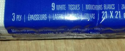 Tissues - Ingredients