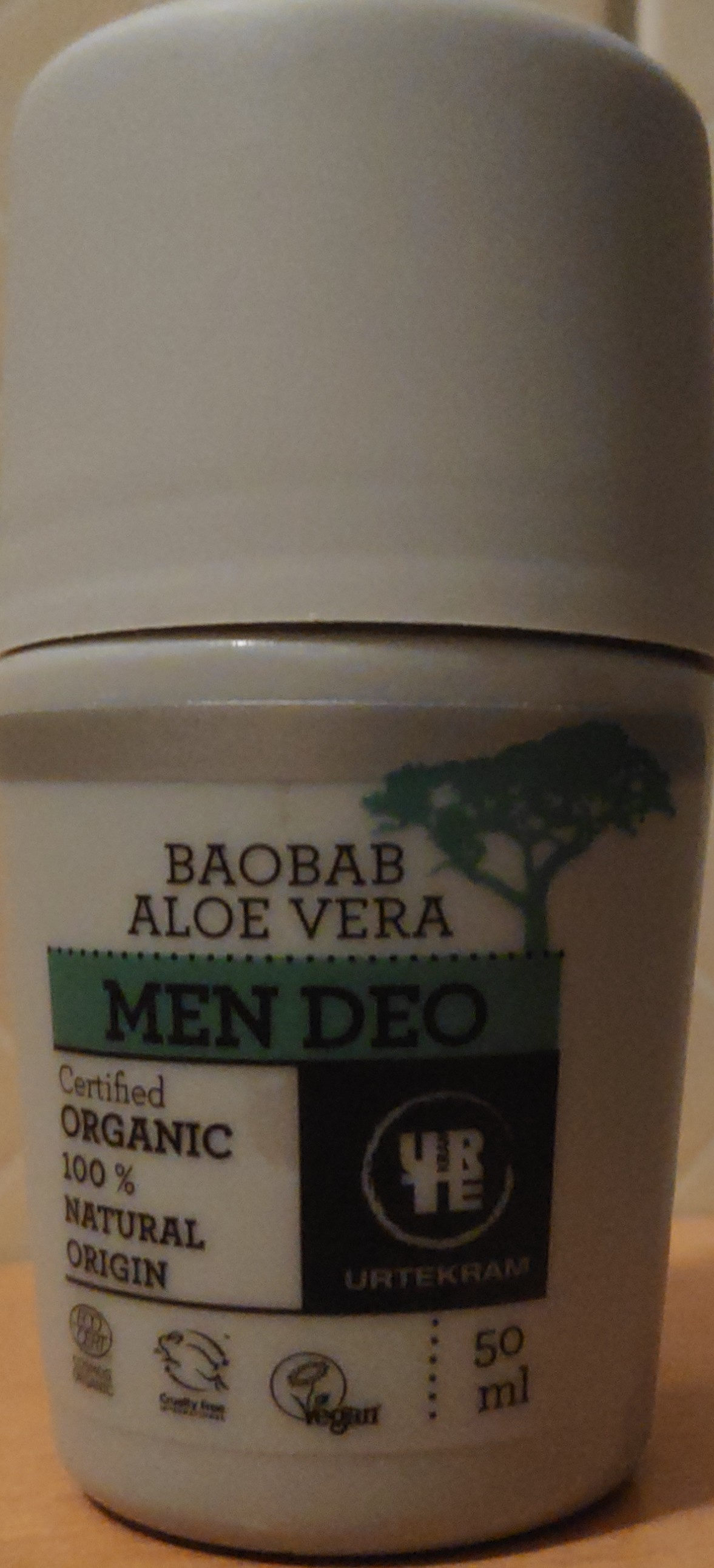 baobab aloe vera men deo - Product