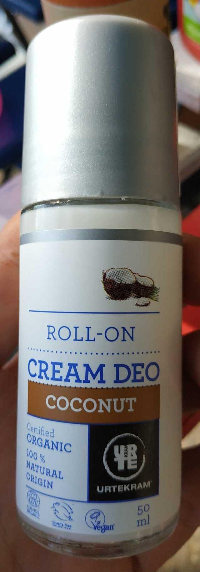 Coconut Cream Deodorant - Product - cs