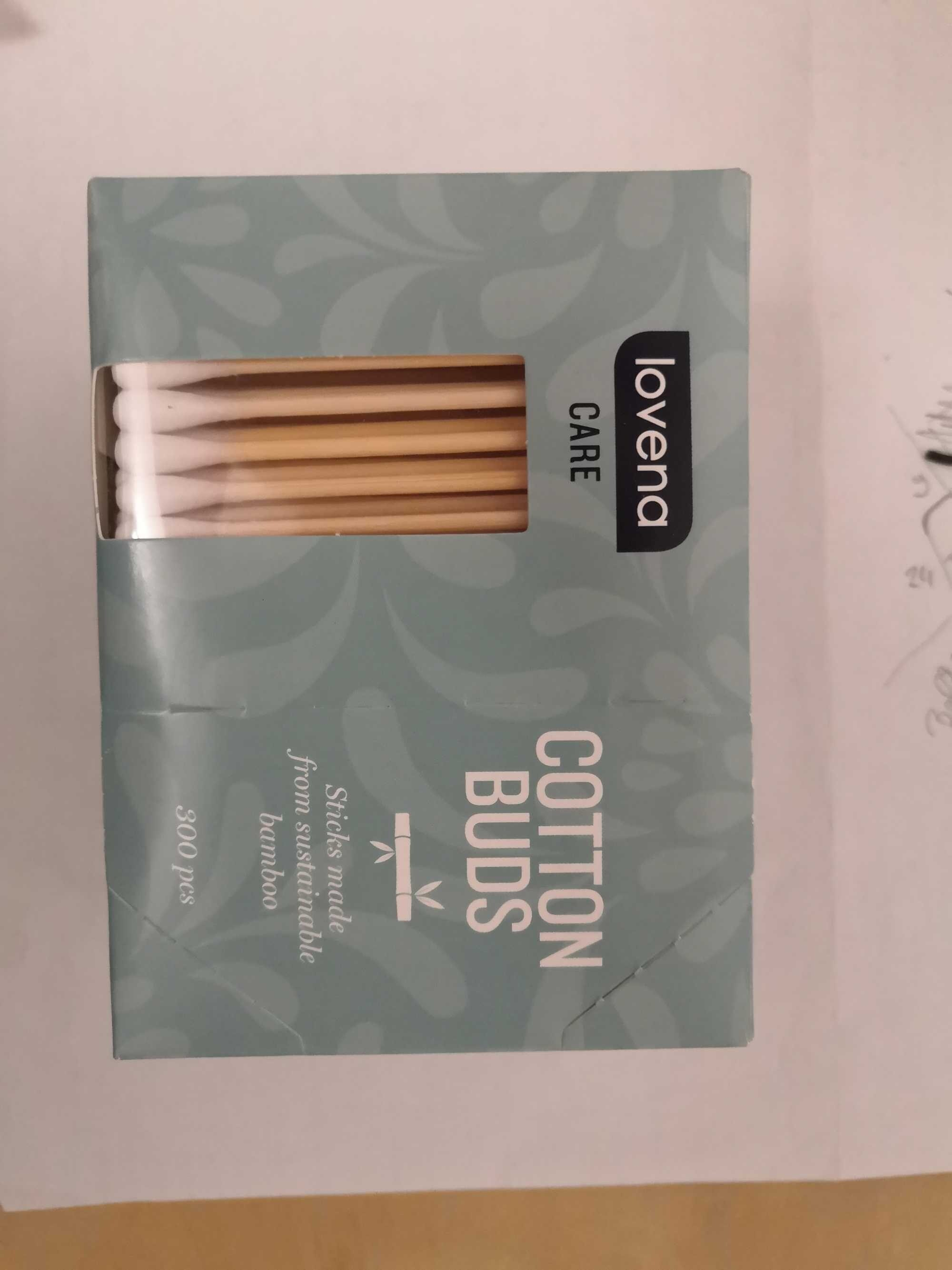 lovena Care Cotton Buds - Product - de