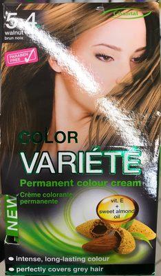 Crème colorante permanente Color Variété Brun Noix - Product