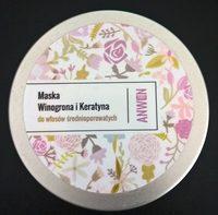 Maska do włosów średnioporowatych - Product