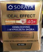 Ideal Effect 40+ Krem wygładzająco-ujędrniający - Product - pl
