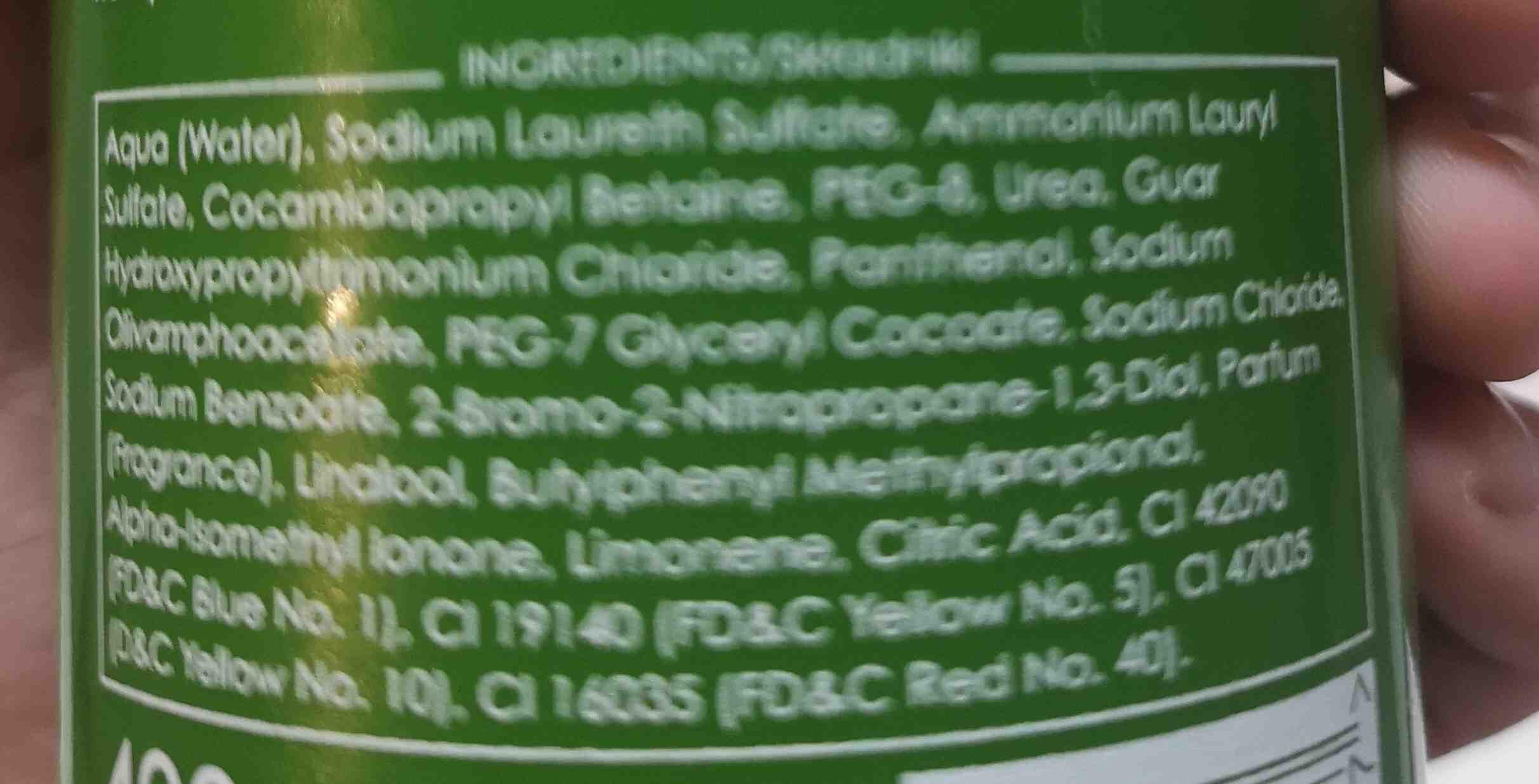 Ziaja oliwkowy szampon do wBosow codzienna pielgnacja - Ingredients - en