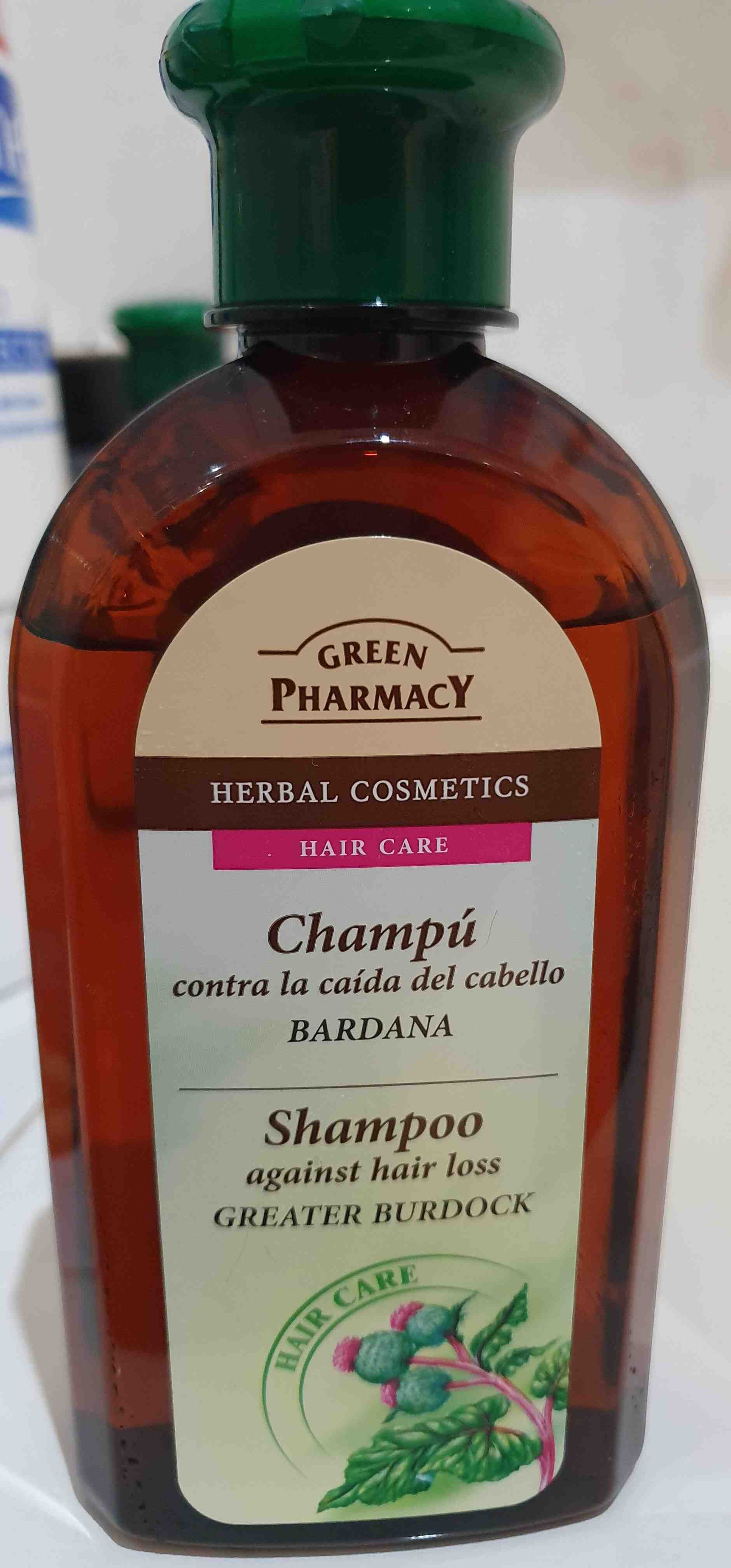 Champu contra la caida de cabello bardana - Product - en