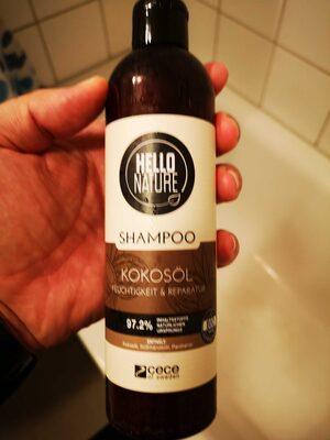 Hello Nature Shampoo Kokosöl - Product - de