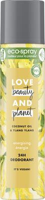 Love Beauty And Planet Déodorant Éco-Spray Énergie - Product - fr