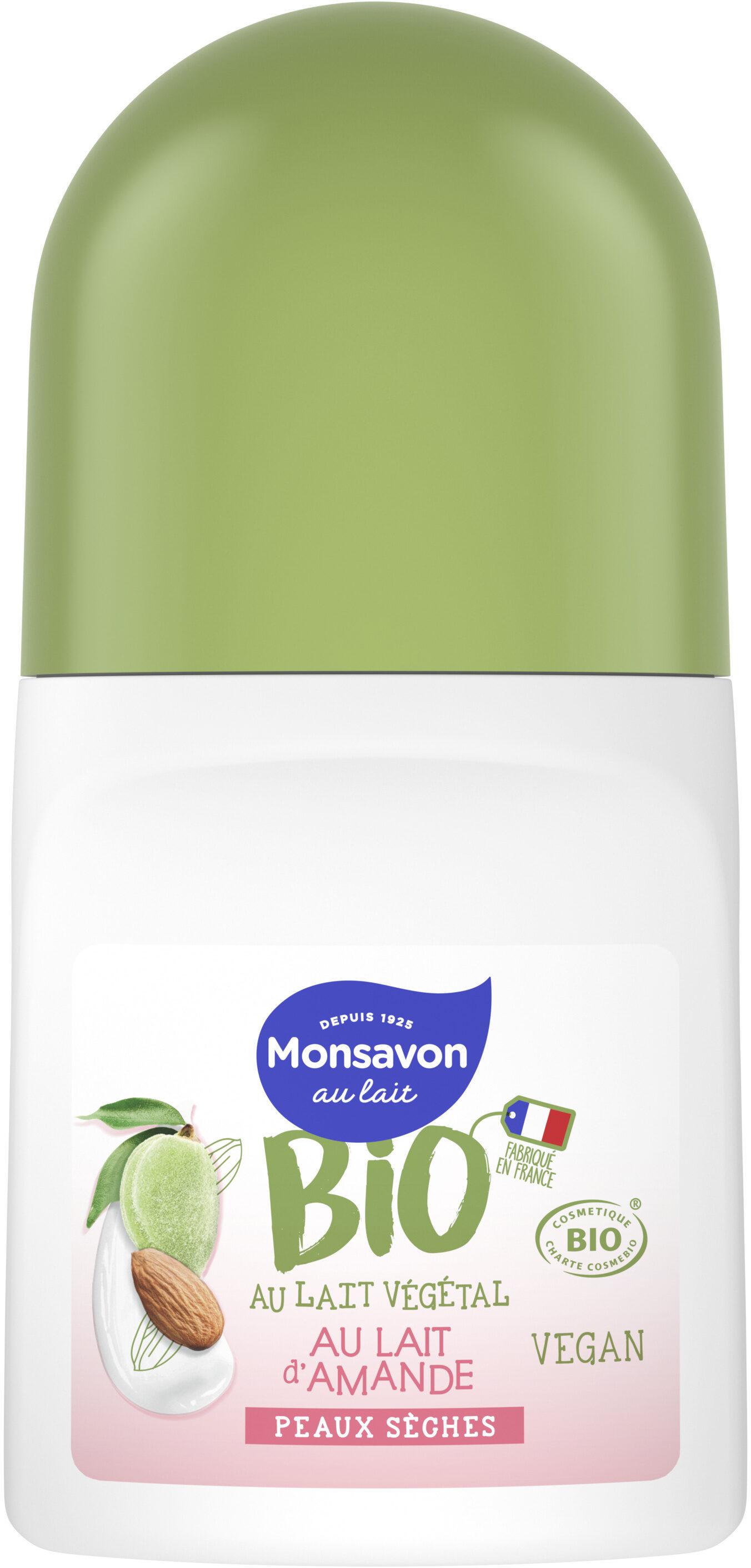 Monsavon Déodorant Bille Bio Lait Amande - Product - fr