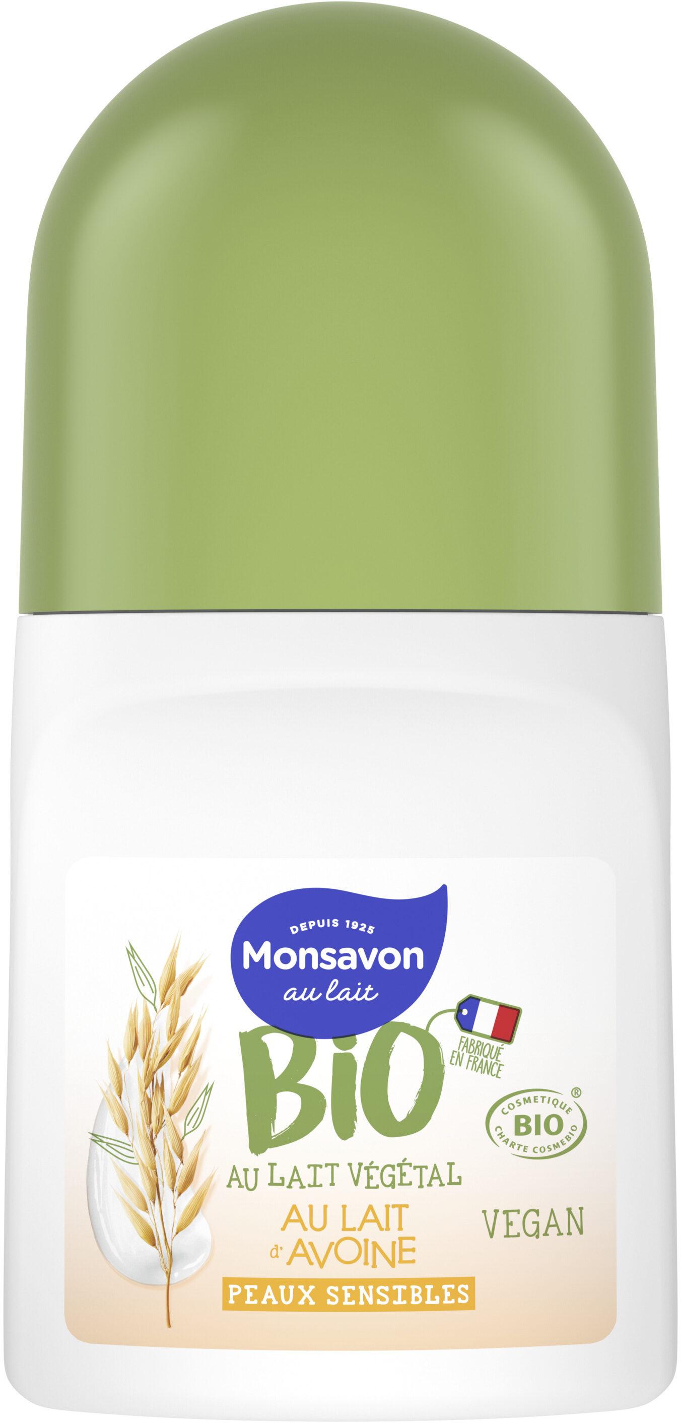 Monsavon Bio Déodorant Bille Lait Amande - Product - fr