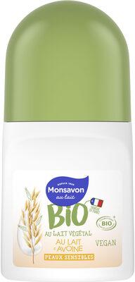 Monsavon Bio Déodorant Bille Lait Avoine - Product - fr
