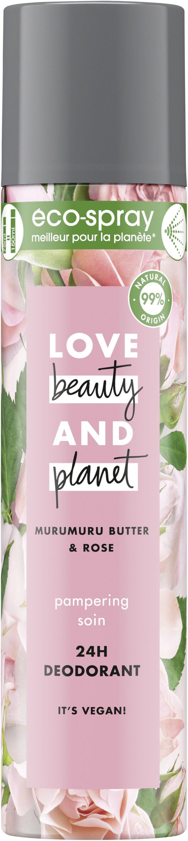 Love Beauty And Planet Déodorant Éco-Spray Soin - Product - fr