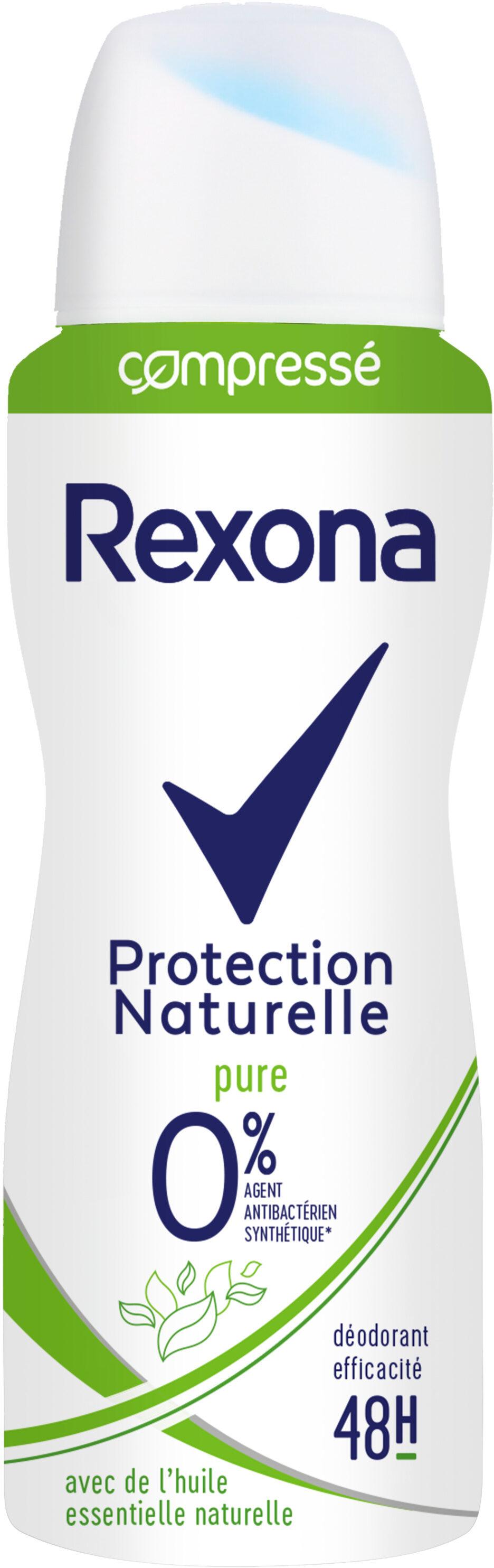 REXONA Déodorant Femme Spray Antibactérien Protection Naturelle Pure 48H - Produit - fr