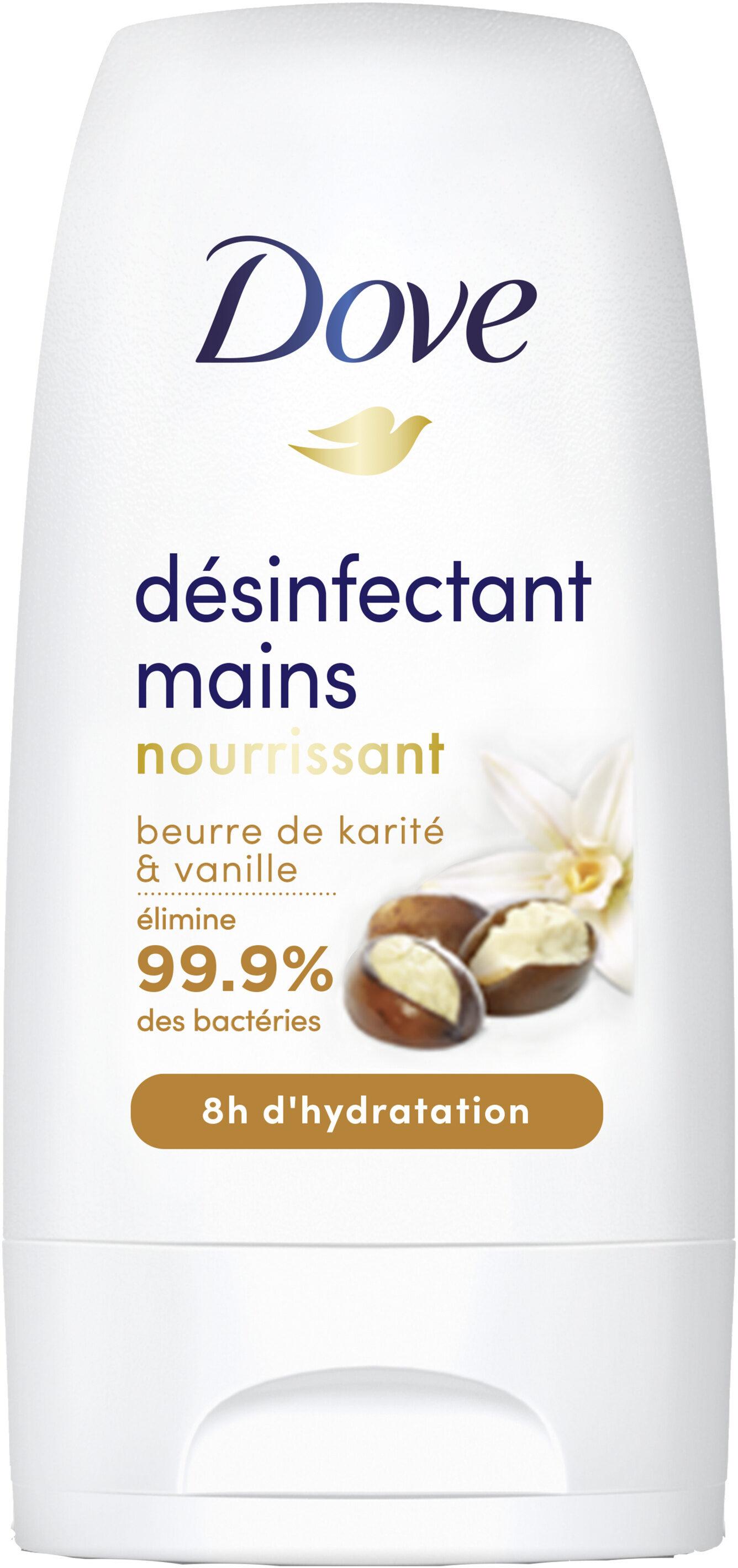 Dove Désinfectant Mains Nourrissant Beurre de Karité & Vanille - Product - fr