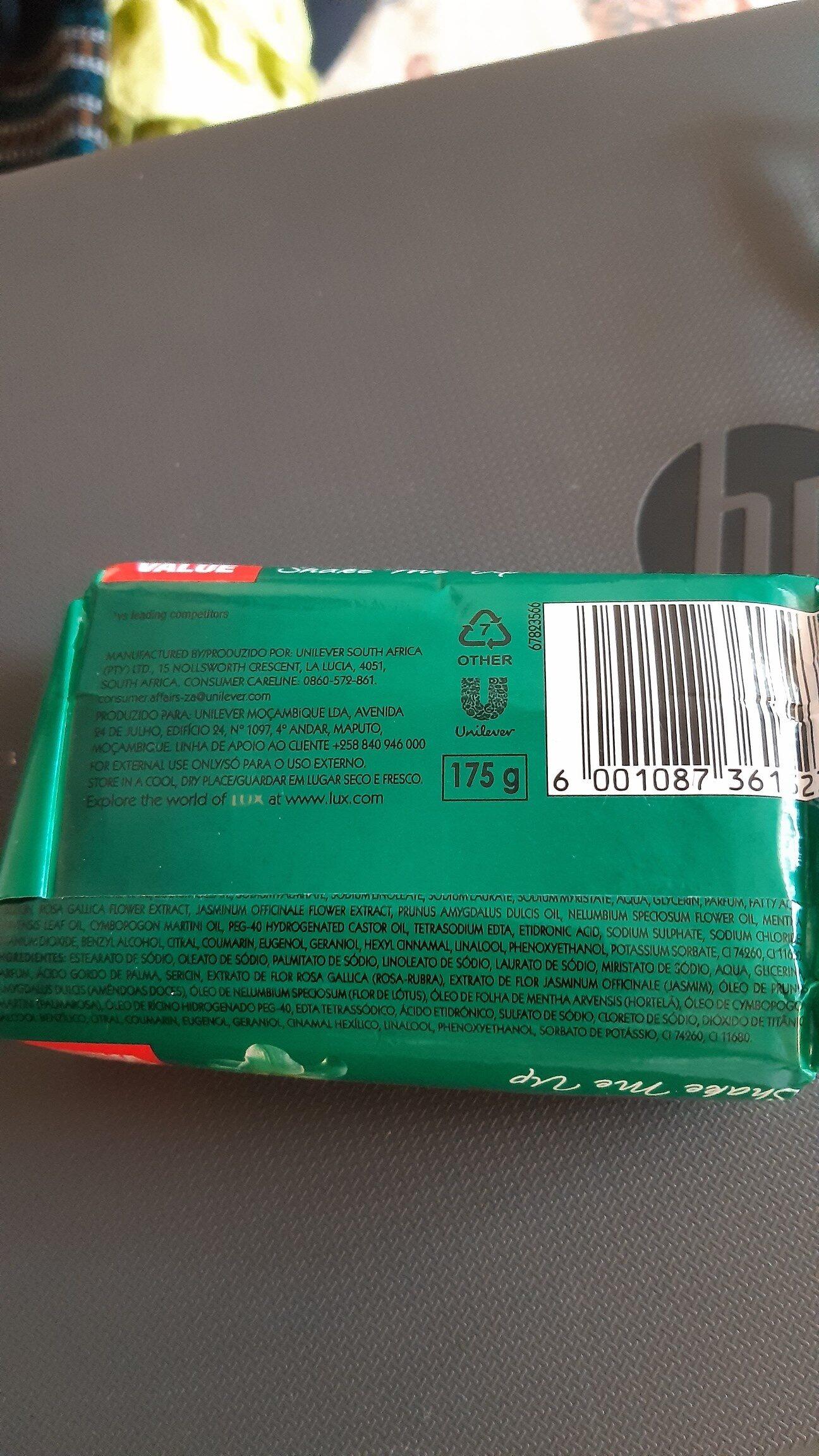 Lux soap - Ingrédients - en
