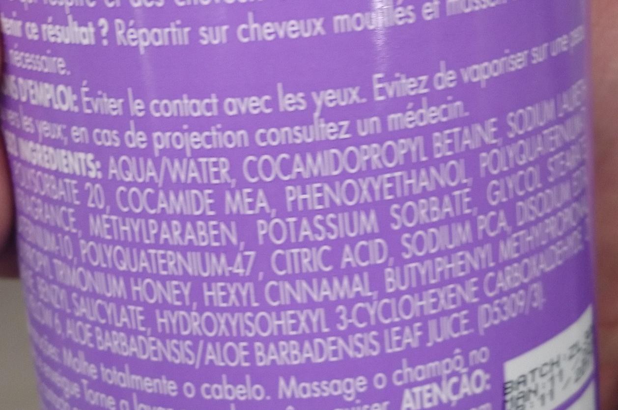 Shampooing 3 en 1 - Ingredients