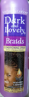 Braids conditioning spray - Product