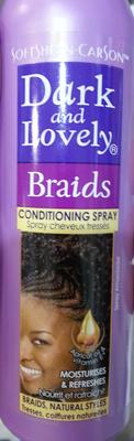 Braids conditioning spray - Produit