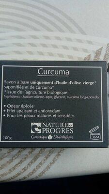 Savon curcuma - Product - fr
