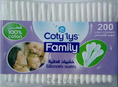 Coty'lys Family batonnets ouatés - Produit