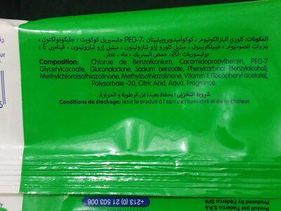 Lingettes antibactérienne - Product - fr