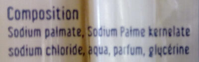 Minis savons de Marseille - Ingredients
